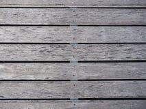 背景楼层被碾压的teakwook纹理木头 库存照片