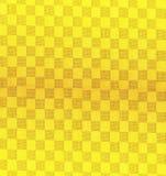 背景模式黄色 向量例证