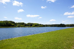 背景横向夏天 免版税图库摄影