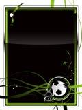 背景橄榄球 免版税图库摄影