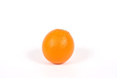 背景橙色白色 库存图片