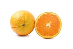 背景橙色白色 免版税库存图片