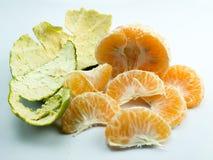背景橙色白色 免版税图库摄影