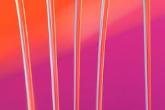 背景橙色粉红色 库存图片