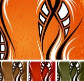 背景橙色通配 免版税图库摄影