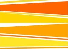 背景橙黄色 皇族释放例证