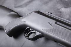背景步枪 免版税库存照片