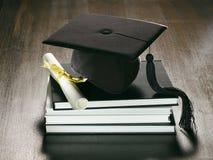 背景毕业 免版税库存图片