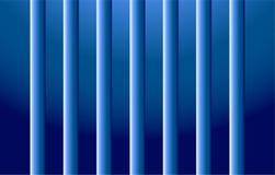 背景水下的蓝色管子 皇族释放例证