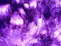 背景水晶粉红色 库存照片