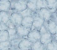 背景求冰的立方 免版税图库摄影