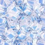 背景求冰的立方 皇族释放例证
