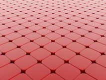 背景求红色的立方 向量例证