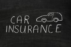背景汽车例证保险向量白色 免版税库存照片