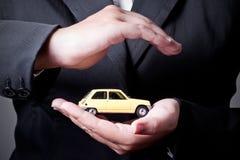 背景汽车例证保险向量白色 图库摄影