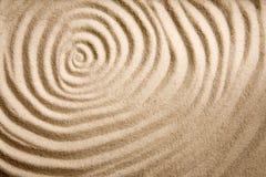 背景沙子漩涡 库存图片