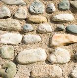 背景沙子石头 免版税库存图片