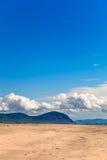 背景沙漠横向本质 免版税库存照片