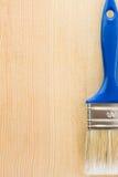 背景油漆刷木头 免版税库存照片
