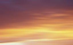 背景波罗的海日落 库存图片