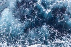 背景海波浪 库存图片