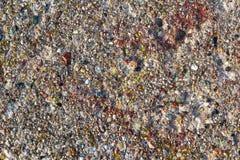 背景混凝土墙色的石头 免版税库存照片