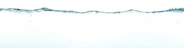 背景清楚的水 免版税库存图片