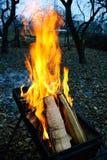 背景火发火焰高图象解决方法 免版税库存图片