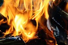 背景火发火焰高图象解决方法 图库摄影