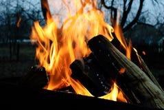背景火发火焰高图象解决方法 库存照片