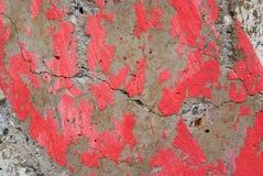 背景灰色脏的红色 免版税库存照片