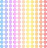 背景点阵柔和的淡色彩 免版税库存照片