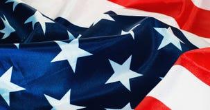 背景烟花标志夜空满天星斗的美国 库存图片