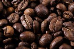 背景烤的豆咖啡 免版税图库摄影