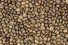 背景烤的豆咖啡 库存照片