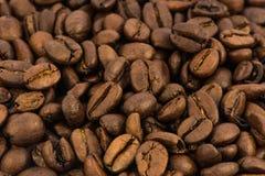 背景烤的豆咖啡 免版税库存照片