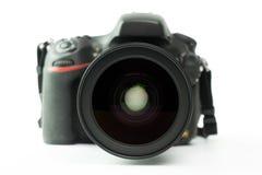 背景照相机剪报dslr查出的路径白色 图库摄影
