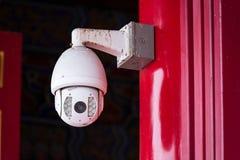 背景照相机cctv高例证查出质量白色 照相机概念证券监视墙壁 私有财产prote 免版税图库摄影