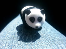 背景熊动画片例证熊猫样式白色 免版税图库摄影