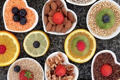 背景玉米片食物健康宏观工作室白色 免版税库存照片