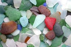 背景玻璃石头 免版税库存图片