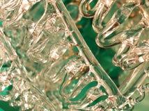 背景玻璃线程数 库存图片