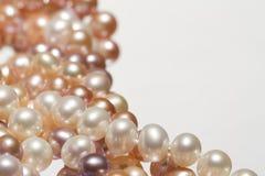 背景珍珠 免版税图库摄影