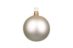 背景球圣诞节查出的白色 库存图片