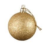 背景球圣诞节白色 免版税库存照片
