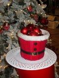 背景球圣诞节装饰例证 库存照片