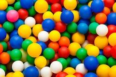 背景球明亮的颜色颜色 库存照片