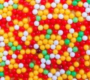 背景球明亮的颜色颜色 库存图片