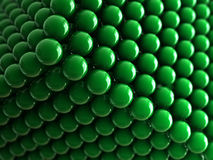 背景球绿色 免版税图库摄影