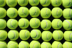背景球网球 免版税库存照片